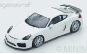 予約品 4月頃 ミニカー SPARK(スパーク)  レジンモデル 1/43 S5200 ポルシェ ケイマン GT4 Clubsport 2017 9580006952004