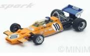 予約品 3月頃 ミニカー SPARK(スパーク)  レジンモデル 1/43 S5390 マクラーレン M19A No.10 9位 French GP 1971 9580006953902