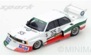 予約品 4月頃 ミニカー  SPARK(スパーク)  レジンモデル 1/43 SI004 BMW 320 Turbo Gr.5 No.55 シルバーストーン 6時間 1978  G. Francia - C. Facetti  限定300台 9580006860040