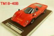 予約品 4月頃 ミニカー TECNOMODEL(テクノモデル) レジンモデル 1/18 TM18-40B マクラーレン M6 GT ロッソ コルサ 1969