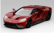 予約品 7月頃 ミニカー TSM MODEL レジンモデル 1/43 TSM430135 フォード GT リキッドレッド 4895183605625
