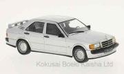 予約品 2017年内 ミニカー Whitebox(ホワイトボックス) 1/43 WB246 メルセデス ベンツ 190E 2.3 16V 1988 シルバー