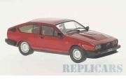 予約品 〜2017年 ミニカー ホワイトボックス Whitebox 1/43 WB249 アルファ・ロメオ GTV6 2.5 1980 レッド 4907981647810
