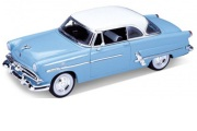 予約品 2017年3月頃 再発売 ミニカー WELLY  1/24 WE22093LB 1953 フォード VICTORIA (ライトブルー) 4548565320332