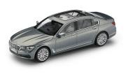 予約品 〜2017年頃 ミニカー BMW 特注モデル(並行輸入品) 1/43 BM7G12GL BMW 7 Series ロング (G12) アークティックグレー