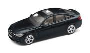 予約品 〜2017年頃 ミニカー BMW 特注モデル(並行輸入品) 1/43 BM4G12CB BMW 4 Series グランクーペ (F36) カーボンブラック