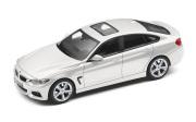 予約品 〜2017年頃 ミニカー BMW 特注モデル(並行輸入品) 1/43 BM4G12GS BMW 4 Series グランクーペ (F36) グレイシャーシルバー