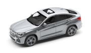 予約品 〜2017年頃 ミニカー BMW 特注モデル(並行輸入品) 1/43 BX4F26GL BMW X4 (F26) グレイシャーシルバー