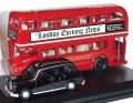ミニカー  オックスフォード Oxford 1/76 OXLD004 ロンドンバス & ロンドンタクシー ギフトセット 4548565222490