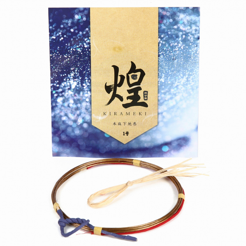 Kirameki Tsuru - 4sunNobi [1 strings per package.]High quality 煌 本麻下地 1本入り 四寸伸