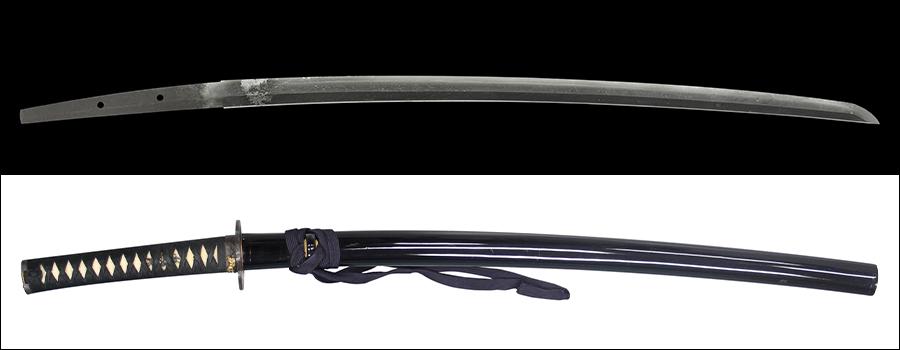商品番号:K-836 刀 銘:無銘(文珠) 保存刀剣鑑定書付き