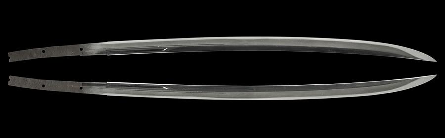 商品番号:L-027 薙刀直し刀 (太刀銘)長光 特別保存刀剣鑑定書付き