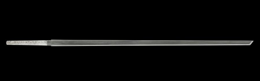 商品番号:V-1555 大刀 (太刀銘)俊平作 人間国宝 特別保存刀剣鑑定書付き