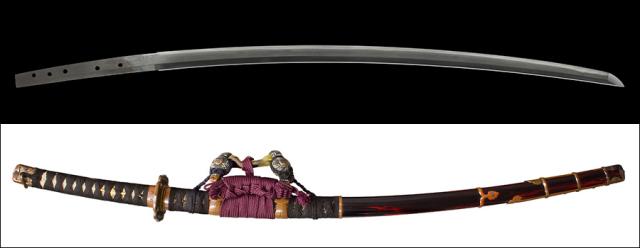 【売約済】 商品番号:K-885 刀 無銘(越前國千代鶴) 保存刀剣鑑定書付き