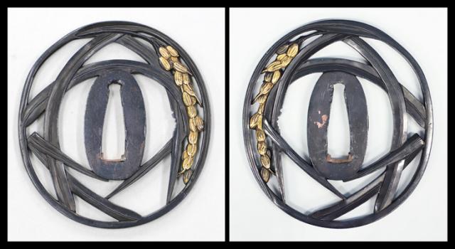 商品番号:T-091 鍔:布袋の図 銘:長陽 正高作