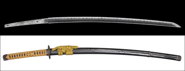 商品番号:V-1493 刀 銘:應奥州八戸藩栃内吉賢需 備前介宗次作之 第三十五回重要刀剣指定品