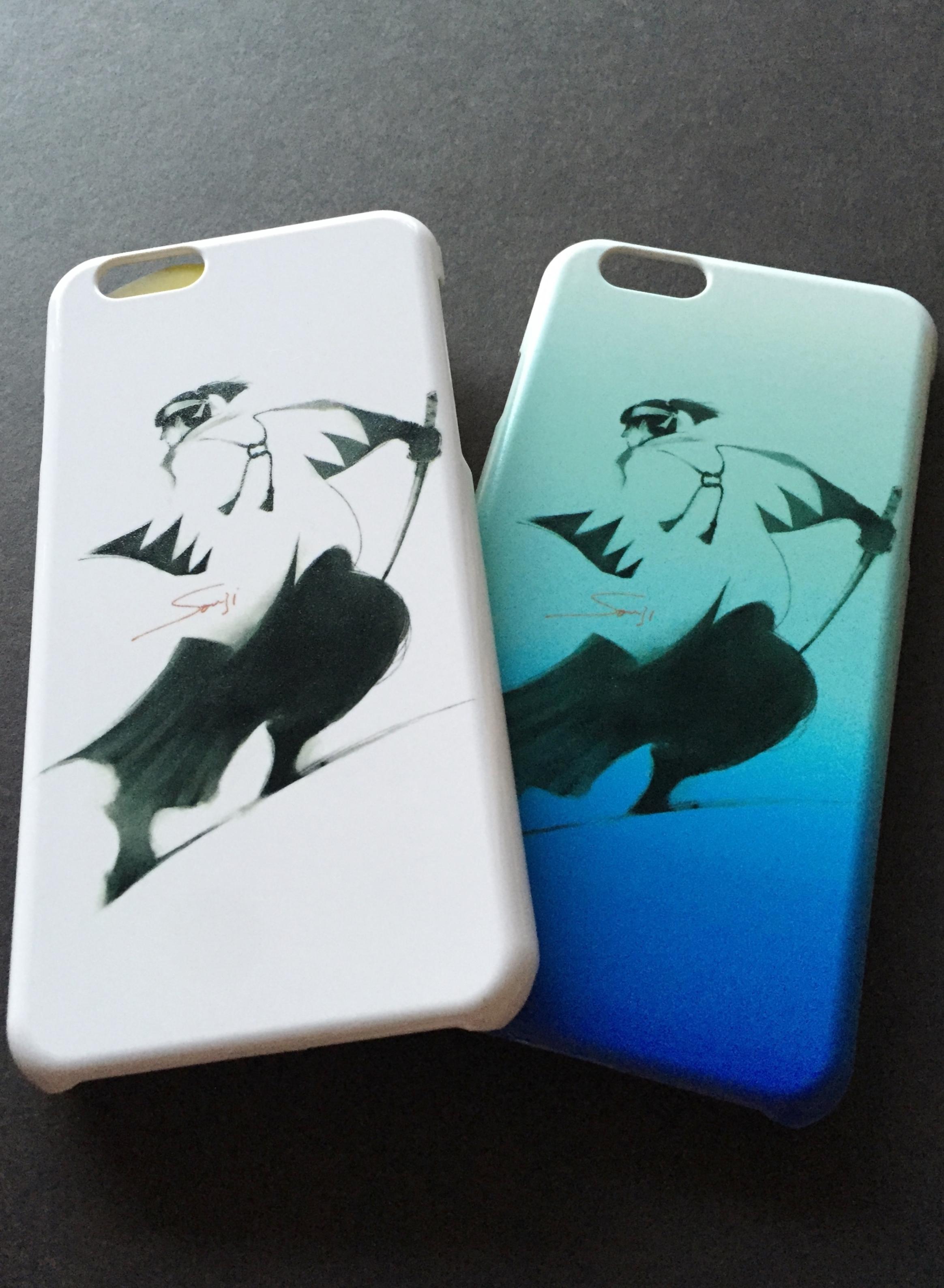 新選組 沖田総司iPhoneケース(iPhone6s/6対応)