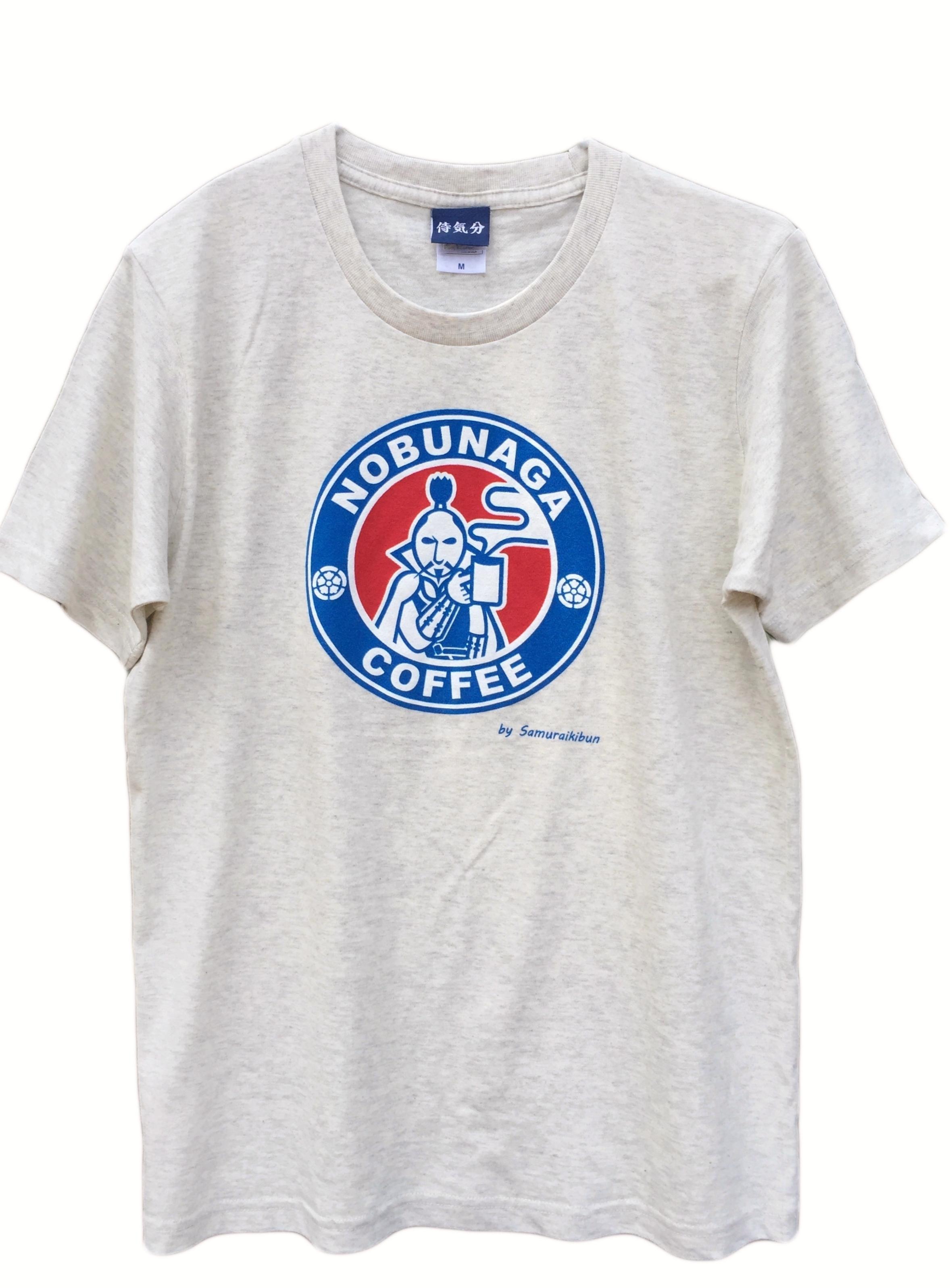 織田信長Tシャツ 信長コーヒーロゴTシャツ