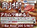 剛樹 Bar Rose(バーローズ)200 S/M/H 究極のアカムツ竿 (送料無料)