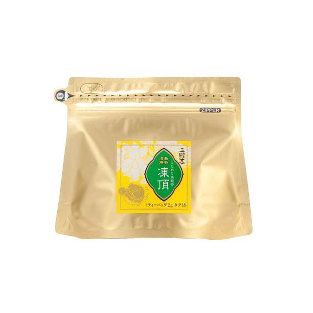 【メール便可】新茶浅焼凍頂/ティーバッグ(ヒモ付)(2g/20パック)