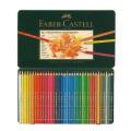 ファーバーカステル ポリクロモス油性色鉛筆 36色セット(缶入)*取寄せ品