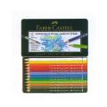 ファーバーカステル アルブレヒト デューラー水彩色鉛筆 12色セット(缶入)*取寄せ品
