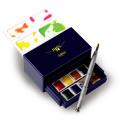ホルベイン アーチスト パンカラー8色セット(KARAKURI BOX) *取寄せ品