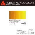 【ホルベイン アクリリック カラー】ニッケル アゾ イエロ−(AU041) 20mlチューブ
