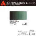 【ホルベイン アクリリック カラー】シャド− グリ−ン(AU053) 20mlチューブ