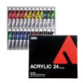 【ホルベイン アクリリック カラー】 24色セット 20mlチューブ