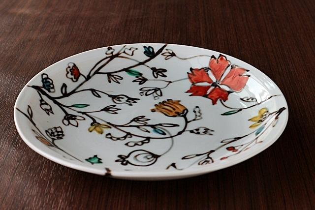 九谷青窯 7.5寸皿