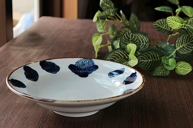 九谷青窯 6寸鉢 カリフラワー6寸深皿