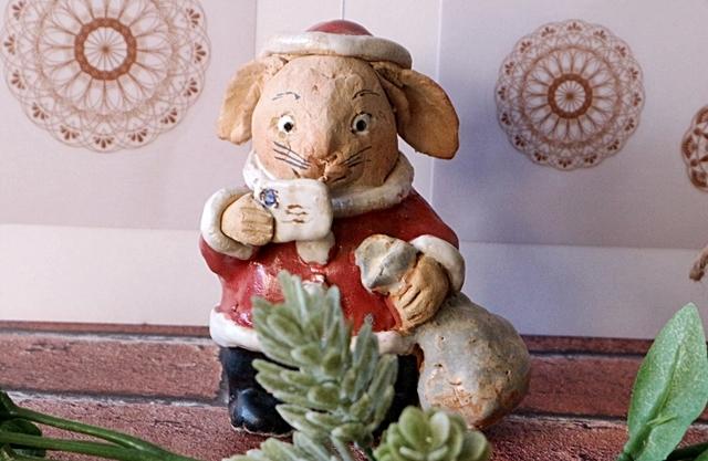 ささきようこ  うさぎサンタ クリスマス
