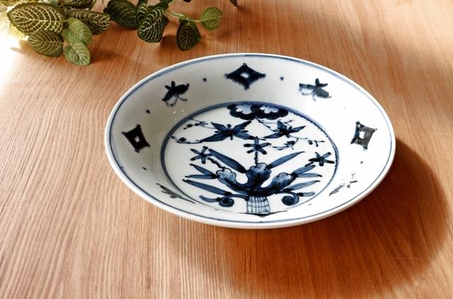 大皿 パスタ皿 カレー皿 磁器 8寸皿