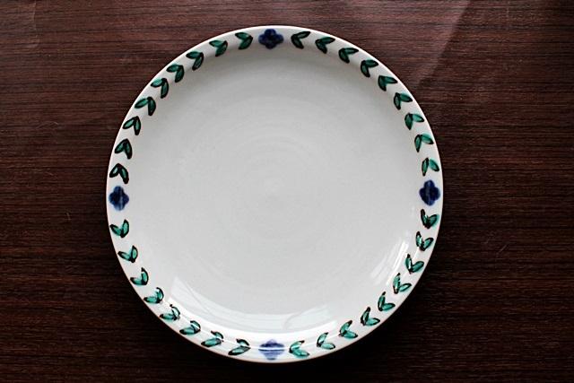 九谷青窯 7寸皿