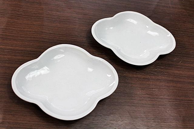 九谷青窯 小皿 白磁