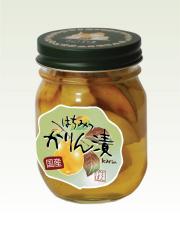 国産かりんはちみつ漬(410g)
