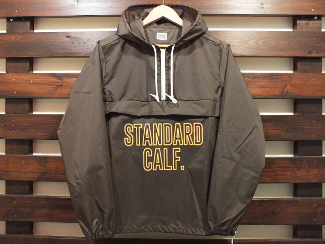 【送料無料】STANDARD CALIFORNIA PACKABLE WINDBREAKER ANORAK BROWN