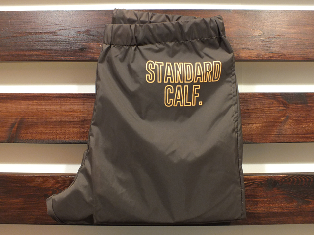 【送料無料】STANDARD CALIFORNIA PACKABLE WINDBREAKER PANTS BROWN