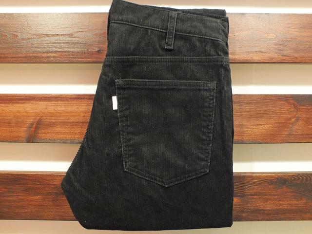 【送料無料】別注 519 CORDUROY PANTS BLACK