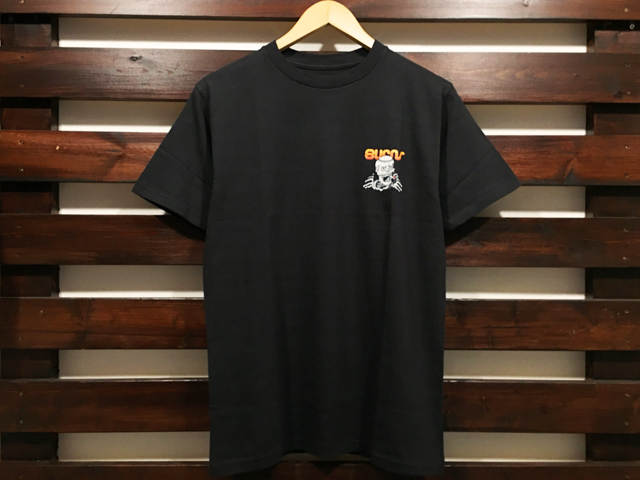 ANOTHER HEAVEN × STANDARD CALIFORNIA BURNS T-SHIRT BLACK 「メール便OK」