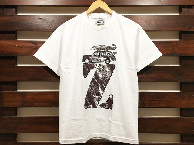 JIMMY'Z × STANDARD CALIFORNIA Z LOGO T-SHIRT WHITE 「メール便OK」