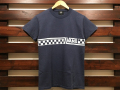 VANS×STANDARD CALIFORNIA CHECKER LOGO T-SHIRT NAVY 「メール便OK」