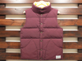 ������̵����CLASS-5 CLASS-5 70's CLASSIC REVERSIBLE DOWN VEST BURGUNDY/YELLOW