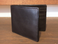 【送料無料】Dirty Leather Down Town Leather Works Leather Bi-Fold Wallet ブラック 栃木レザー