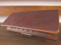 【送料無料】Dirty Leather Down Town Leather Works Leather Long Wallet ブラウン 栃木レザー