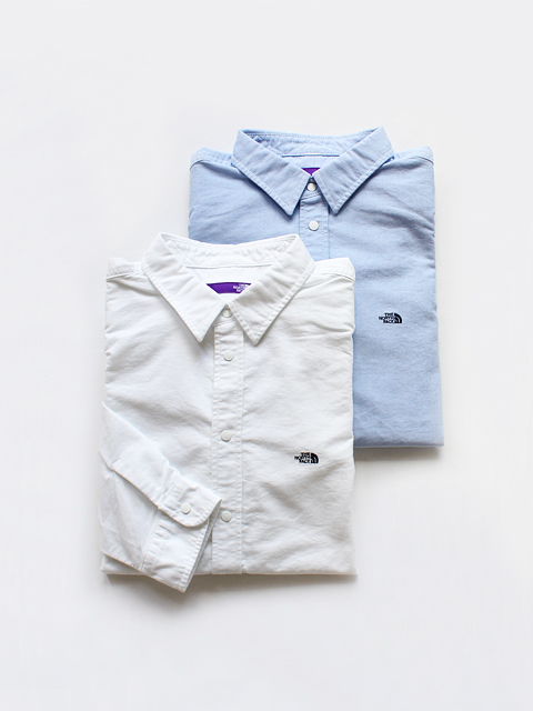 THE NORTH FACE PURPLE LABEL (ザ ノースフェィス パープルレーベル) Cotton Polyester OX Shirt
