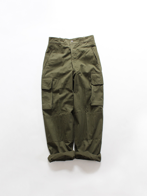 (DEAD STOCK) FRENCH ARMY M-47 FIELD PANTS
