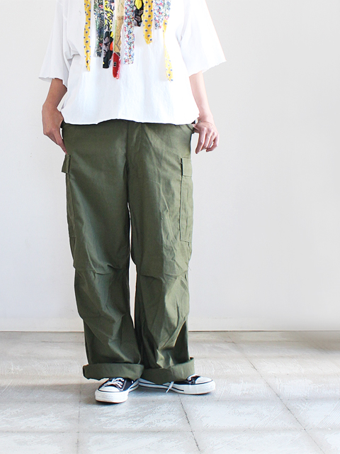 (DEAD STOCK) VINTAGE U.S ARMY M-65 FIELD TROUSERS - Small Long