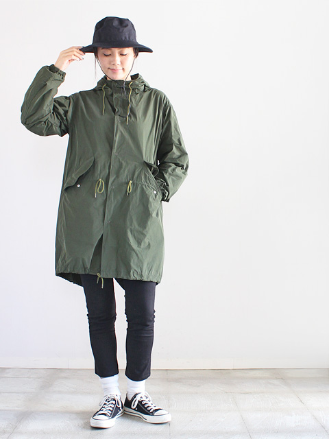 A VONTADE (ア ボンタージ)  Memory Fish Tail Parka